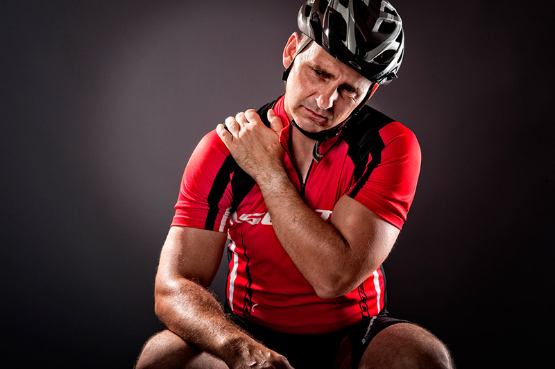 dolor lesiones ciclista