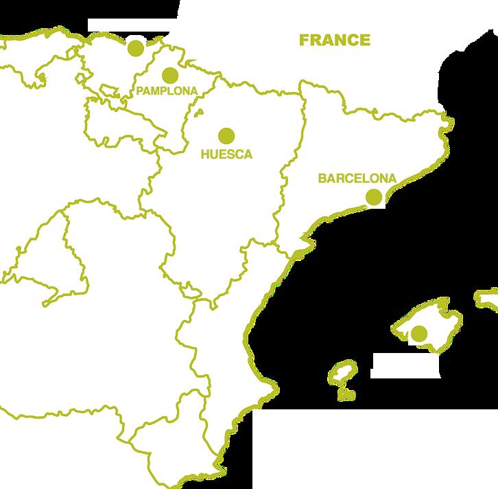 mapa younextbike