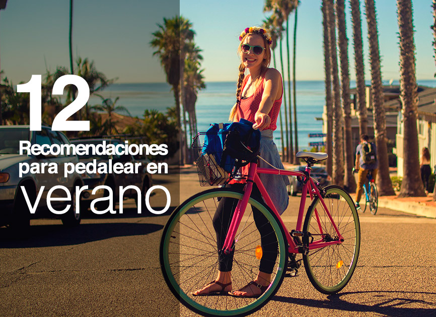 12 consejos pedaleo verano