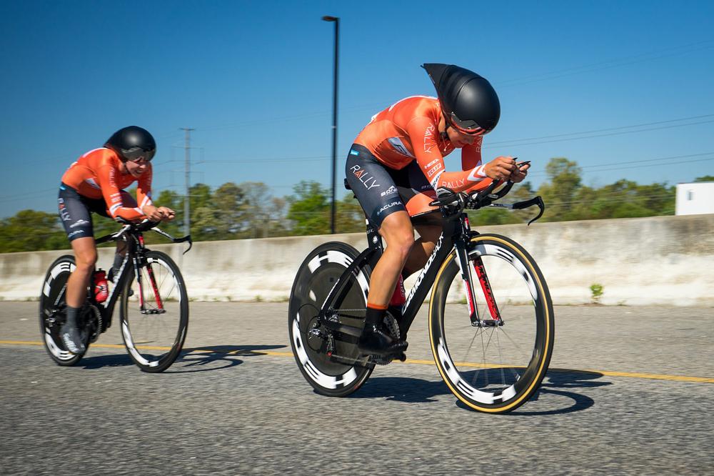 Geometría ciclista mujer